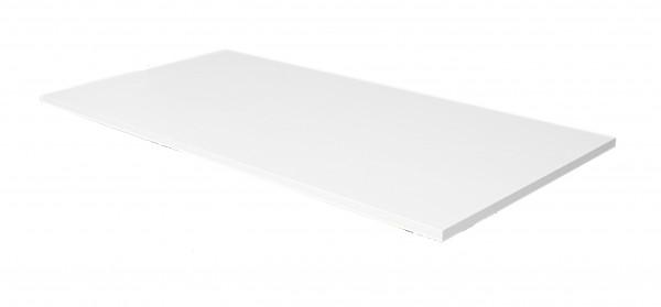 Schreibtischplatte 160 x 80 cm, weiß